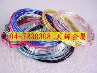 彩色鋁線,鋁線DIY,鋁線電鍍,發色,陽極處理