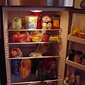 雜亂的冰箱