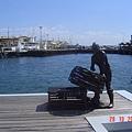 漁港景一角