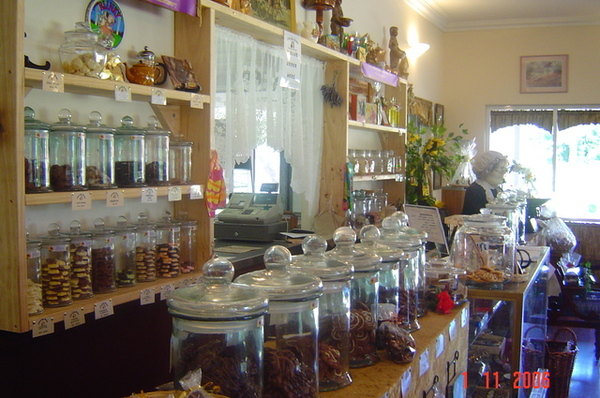 國家公園的咖啡店