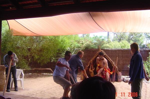 國家公園   原住民秀  gennaro 跑下去玩