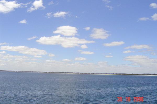 超藍的天空