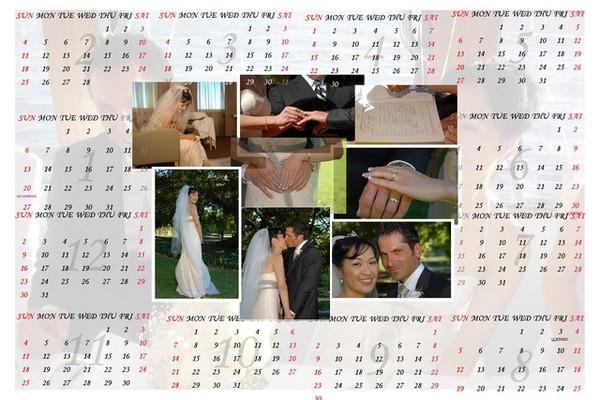 year wedding