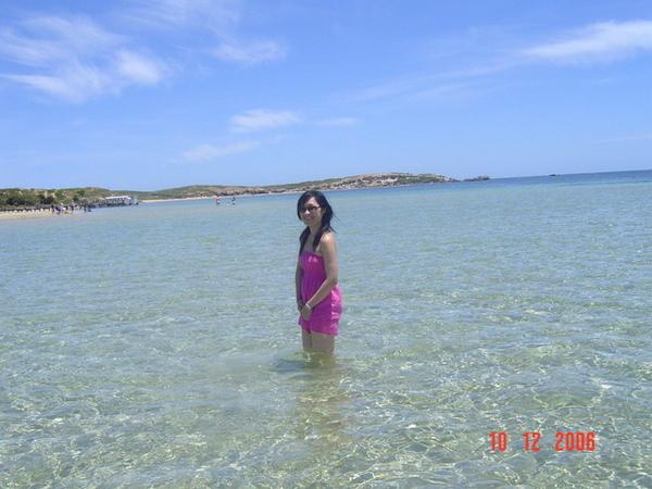 走在海中~~我啦