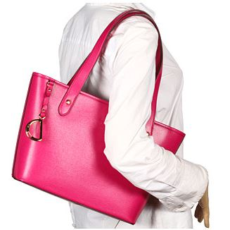 RL pink shoulder bag 5