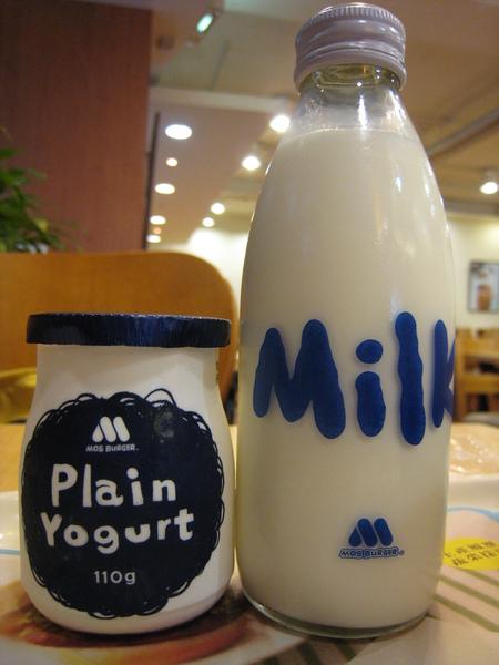 20080204-10 飲料選牛奶 另外加點優格