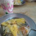 吃喝-04 蛋餅和杏仁茶(正!)
