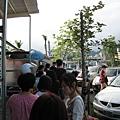 20081102-11 礁溪蔥油餅,實在有夠多人