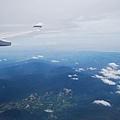 往台湾的天空