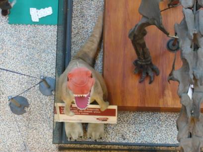 Cute fake Dinosaur