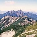 南峰, 巴巴,中央尖,奇萊東稜 ,合歡 排排站