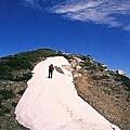 主峰前雪坡