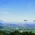 鯉魚山頂 望 花蓮平原.jpg