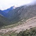 玉山北側山坳