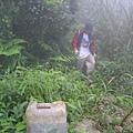 登山口的水桶標示