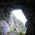 4號隧道崩塌後的 南段隧道