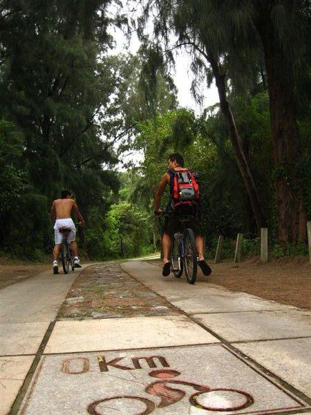 烈嶼環島自行車道
