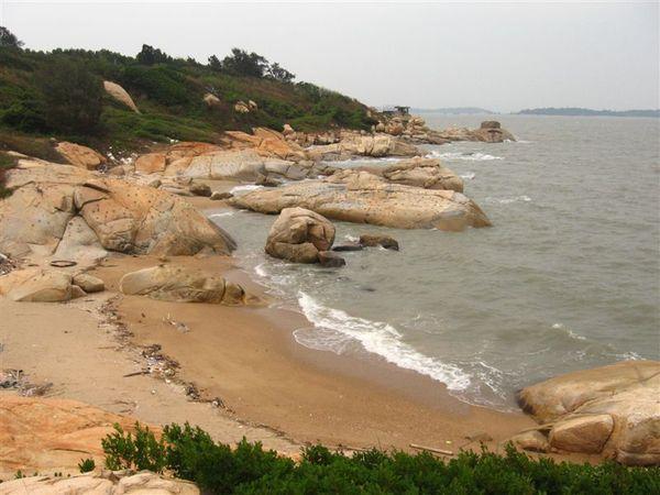 花崗石 海岸