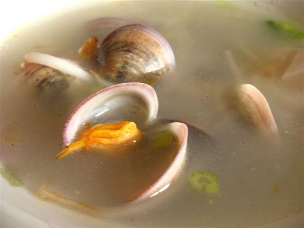 金門的 蛤蠣湯