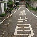 撞牆的自行車道