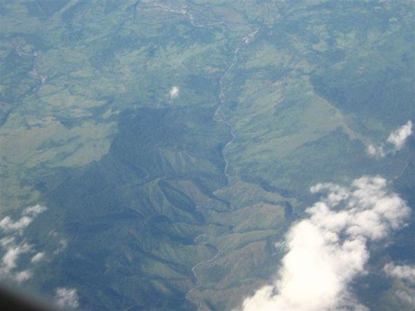 菲律賓 曲流山谷