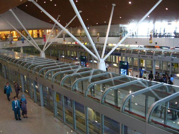 Aero train Platform