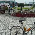單車客 陸客 擠滿新城火車站