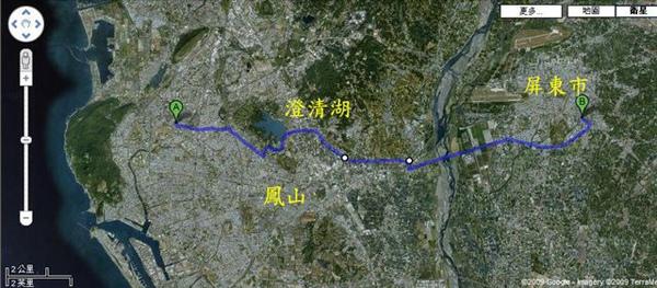 Cycling 高雄to屏東 標示地名.jpg