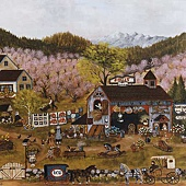 Antiques And Apple Blossoms.jpg