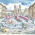 スペイン広場(イタリアの風)~1000P.jpg