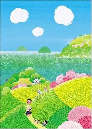 島へんろのころとわらべ-500pcs.jpg