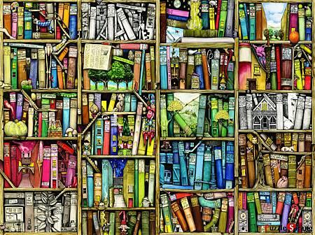 Ravensburger- The Bizarre Bookshop-1000pcs.jpg