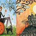 Andrews + Blaine Panoramic Halloween Chic Puzzle (1000 Piece).jpg