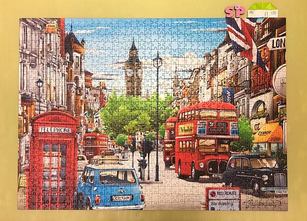 247Dino Puzzle-London-1000pcs.JPG