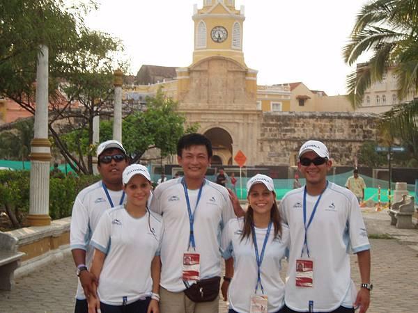 Clombia 帶隊到 哥倫比亞桌球錦標賽 (2)