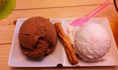 小象樹--鬆餅冰淇淋