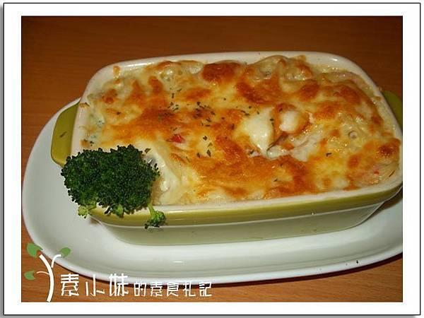 品味昇活 奶油白醬義大利焗烤麵台中素食蔬食食記.jpg