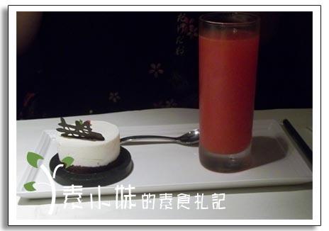 鮮打蔬果汁+天使起司慕斯 舒果‧新米蘭蔬食(台中中港店)  台中素食蔬食食記.jpg
