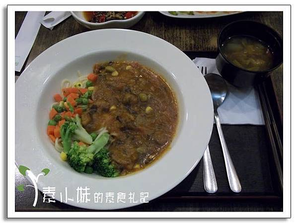 蘑菇義大利麵 三角街人文茶館 台中素食蔬食食記.jpg
