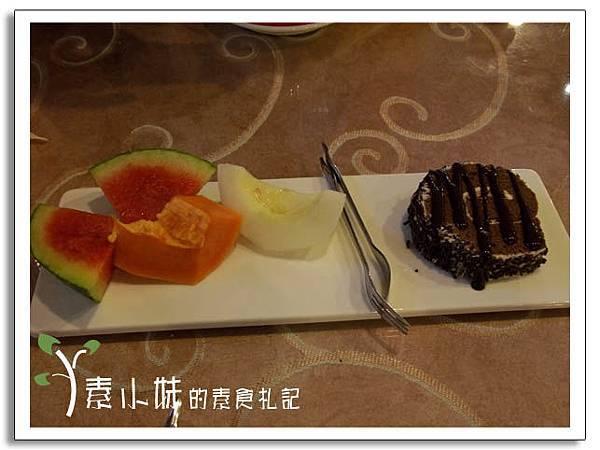 甜點與水果 新卡莎素食西餐廳   台北素食蔬食食記.jpg