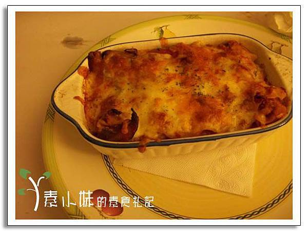 義式千層麵 小王子的花園 台中素食蔬食食記 .jpg