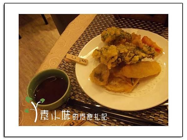 野菜天婦羅 祇樹給麗緻素食百匯餐廳 台中素食蔬食食記拷貝.jpg