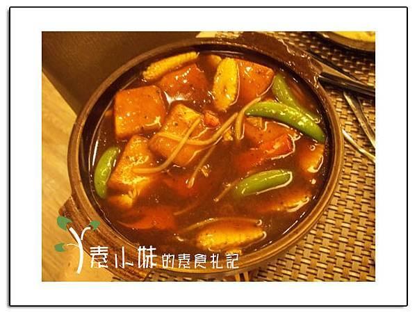 鐵板豆腐 祇樹給麗緻素食百匯餐廳 台中素食蔬食食記拷貝.jpg