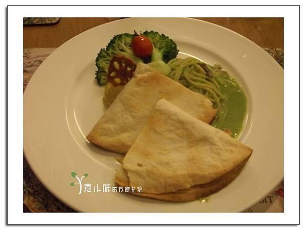 泰式烤餅 與義大利麵 聖誕大餐 蘇菲的花園Sophie's Garden 台北素食蔬食食記.jpg