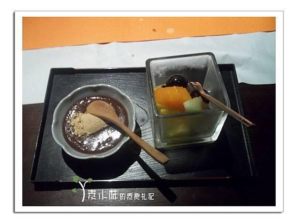 甜點與水果 大岸養生蔬食日本料理 台中素食蔬食食記