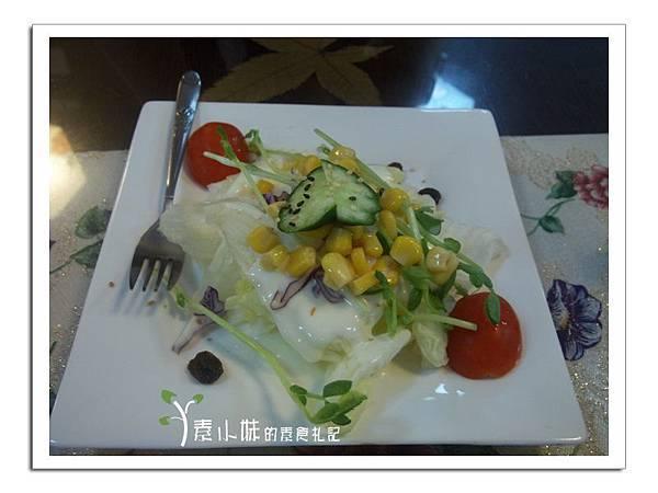 沙拉 景饌蔬食響宴 (景饌人文素食館 )  台中素食蔬食食記