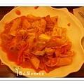 辣炒年糕 石全石美  台中素食蔬食食記