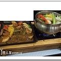 雙燒鐵板汼柳 亞曼尼蔬食咖啡館 台中豐原素食蔬食食記拷貝