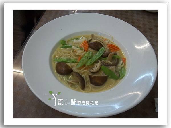 義大利素海鮮麵 涑芳齋 中西式素食 台中素食蔬食食記