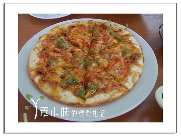 墨西哥辣味pizza hot豆素食pizza 嘉義市素食蔬食食記 拷貝